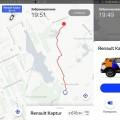 Свободные машины сервиса Яндекс Драйв